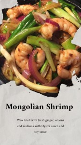 Mongolian Shrimp